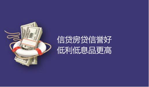 金融贷款公司名片模板